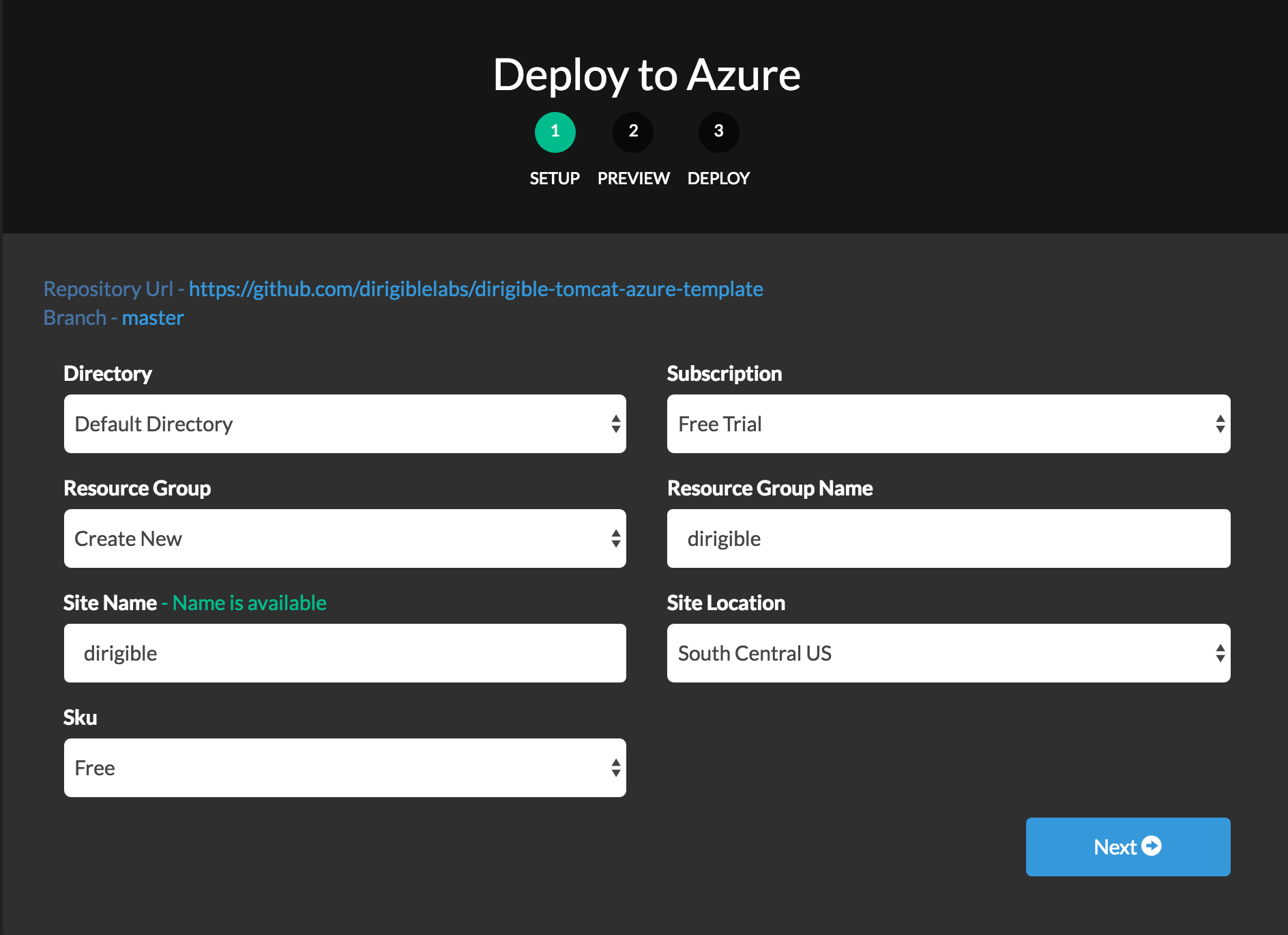 Deploy to Microsoft Azure